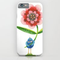iPhone & iPod Case featuring Red Wonder Flower by Jennifer Lambein