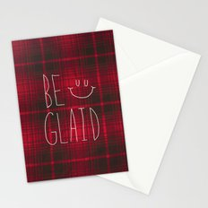 So Plaid Stationery Cards
