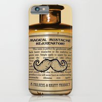 iPhone & iPod Case featuring Magical Mustache Rejuvinator by Katie Lawter