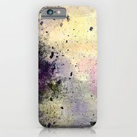 iPhone & iPod Case featuring Abstract Mixed Media Design by Michael Weitsen