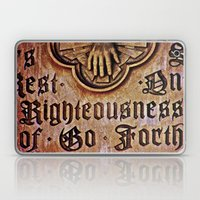 Righteousness Laptop & iPad Skin