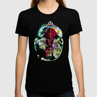 Head (Anatomy 08) Womens Fitted Tee Black SMALL