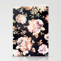 VINTAGE FLOWERS XXXIII - for iphone Stationery Cards