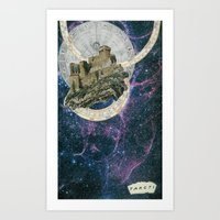 My Home At The End Of Th… Art Print