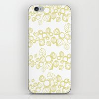 Leafy Stripes  iPhone & iPod Skin