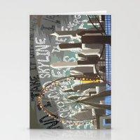 Crowded Skyline Stationery Cards