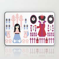 Good Vs Evil: Snow White… Laptop & iPad Skin