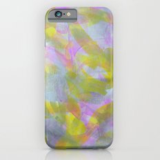 Abstract in Shimmery Pastel Colors Slim Case iPhone 6s