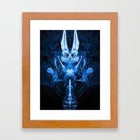 Dimonyo Framed Art Print