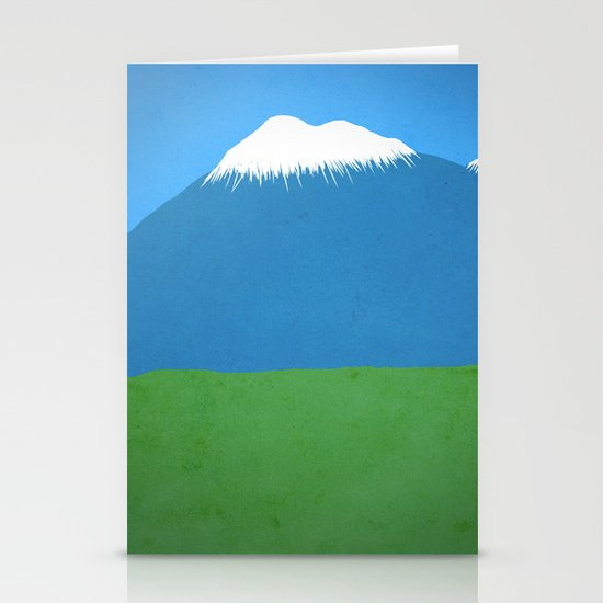 Mountains Stationery Card