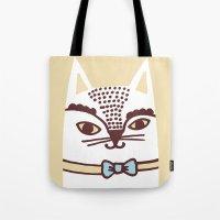Katze #3 Tote Bag