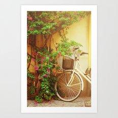 Spring Bike Ride Art Print