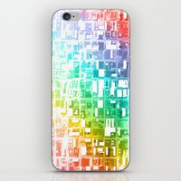 spectrum construct iPhone & iPod Skin