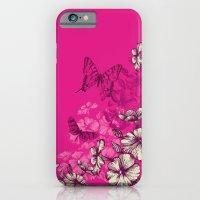 Vintage Butterfly Wallpa… iPhone 6 Slim Case