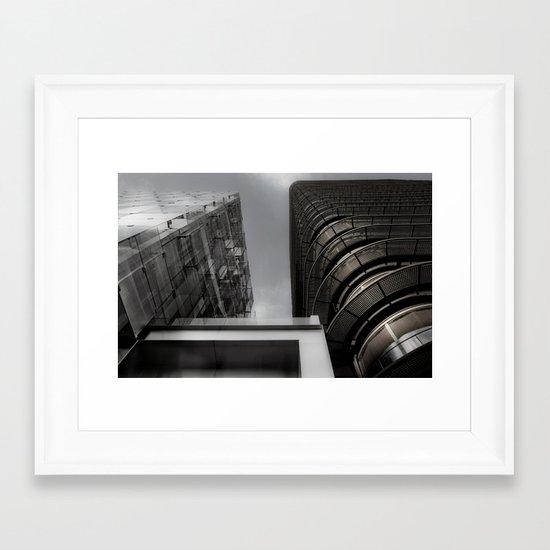 Builds 5 Framed Art Print