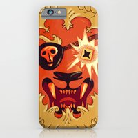 iPhone & iPod Case featuring LION by Mitch Loidolt