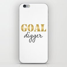 Goal Digger iPhone & iPod Skin