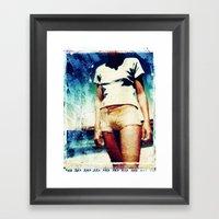 Donde Estas? Framed Art Print