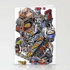 Pizza Machine Stationery Cards