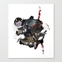 Kunoichi 3 of 4 Canvas Print