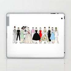 Outfits of Audrey Hepburn Fashion Laptop & iPad Skin