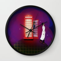 Community Inspector Spacetime  Wall Clock