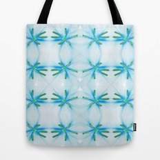 Lily flower pattern Tote Bag