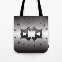 puppy love ink blot (Rorschach) Tote Bag