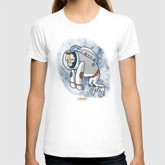 Space Ape - Simian Sounds from Beyond Space! T-shirt