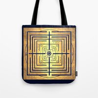 Knowledge Labyrinth Tote Bag