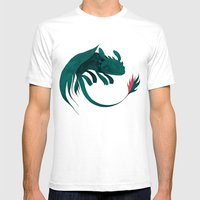 toothless Mens Fitted Tee White SMALL