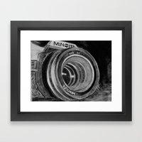 Minolta Framed Art Print
