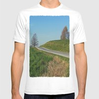 Emptiness Mens Fitted Tee White SMALL