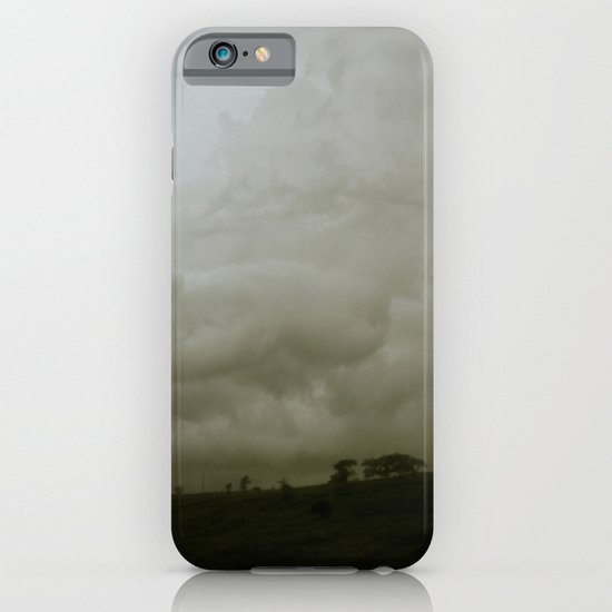 Dawn in the countryside iPhone & iPod Case