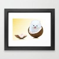 coconutty Framed Art Print