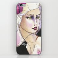 Green Eyed By Jane Daven… iPhone & iPod Skin