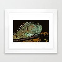 IN THE SCALE OF THINGS Framed Art Print