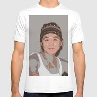 China Girl Mens Fitted Tee White SMALL