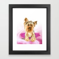 tutu cute Framed Art Print