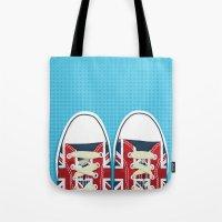 Casual British Tote Bag