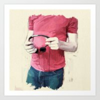 Color Study 2 - torso Art Print