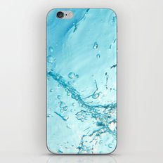 Bubble Trail Underwater Photo iPhone & iPod Skin