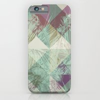 iPhone Cases featuring Palm Trees V by Metron