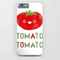 iPhone & iPod Case featuring Tomato-Tomato by Hadar Geva