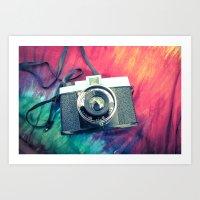 Diana F+ Art Print