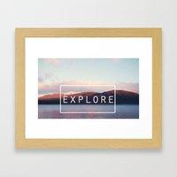 Explore. New Zealand Framed Art Print