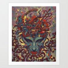 Fountainhead Art Print