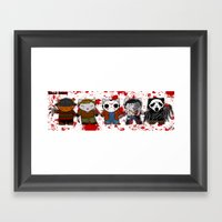 Hello Horror 2103 Framed Art Print
