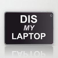 Dis My Clothing Line Laptop & iPad Skin