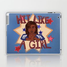 Hit Like A Girl Laptop & iPad Skin